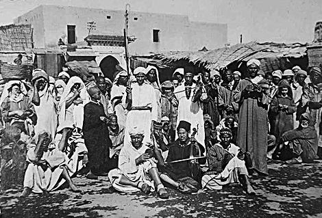 Musiciens Place Jemaa El fna