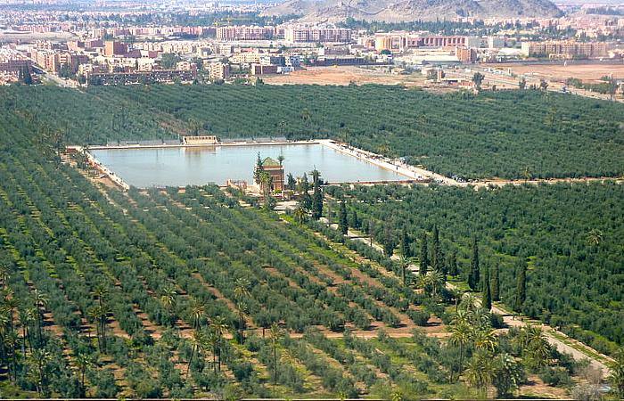 jardins de l'agdal marrakech