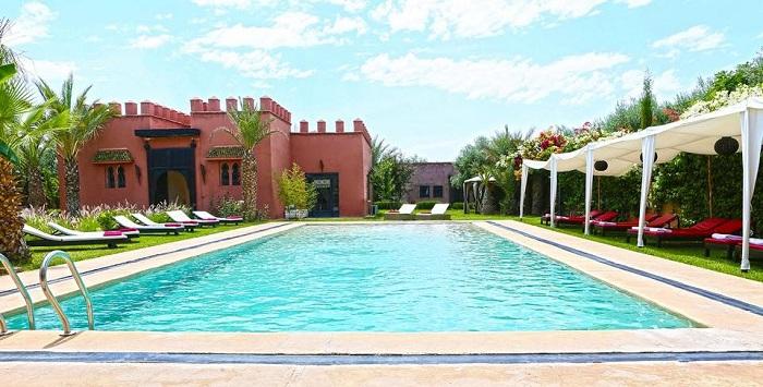 coco canel marrakech piscine