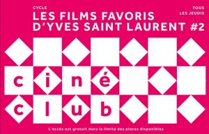 Ciné-Club mYSLm @ Musée Yves Saint Laurent @ Marrakech | Marrakech-Safi | Maroc
