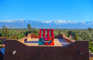 jardin rouge marrakech
