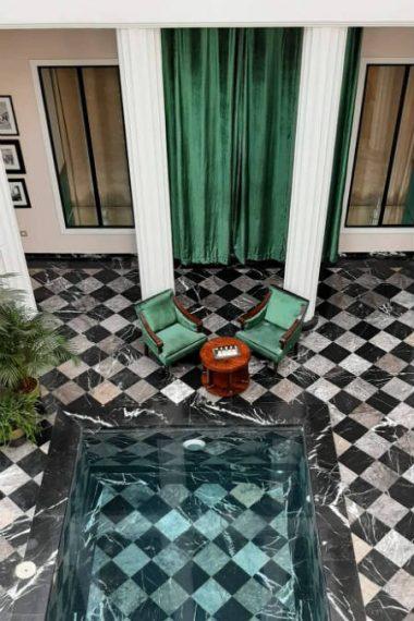 patio les bains du lotus