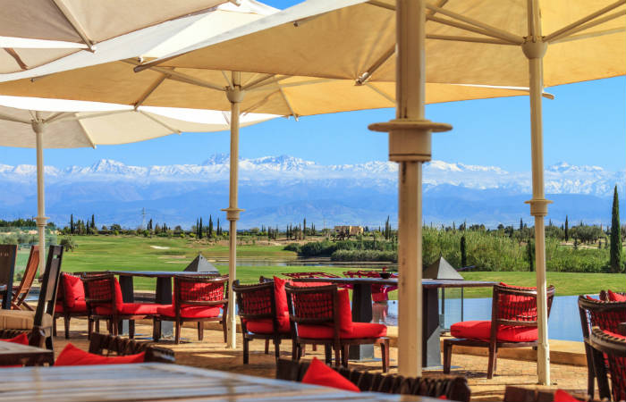 vue atlas al maaden golf marrakech