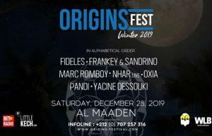 Origins Festival Winter Session @ Al Maaden Golf | Marrakech | Marrakesh-Safi | Maroc