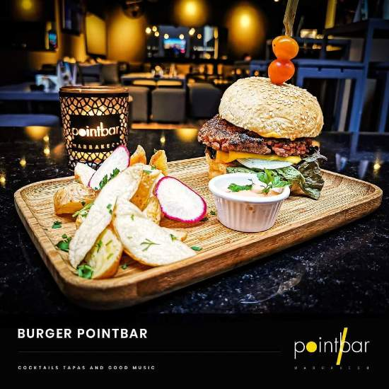 burger point bar marrakech