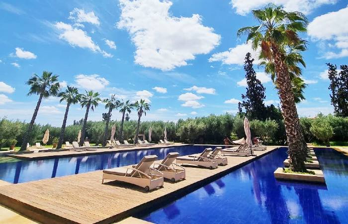 day pass et piscine oberoi marrakech