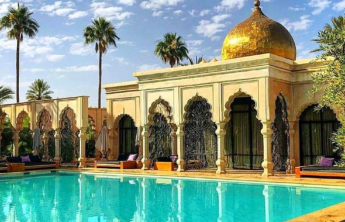 day pass piscine palais namaskar marrakech