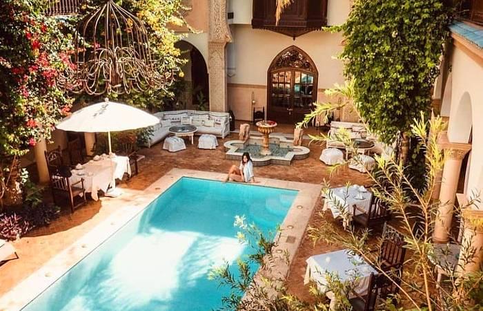 piscine riad demeures d'orient marrakech